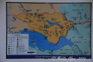 Skilak Wildlife Recreation Area Map